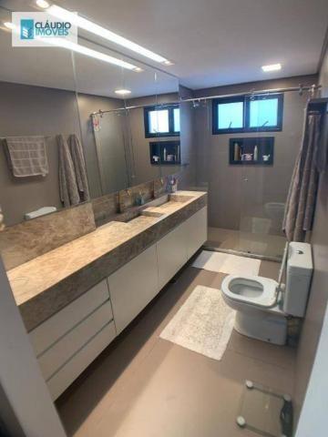 Apartamento com 4 dormitórios à venda, 203 m² por r$ 1.600.000 - jatiúca - maceió/al - Foto 13