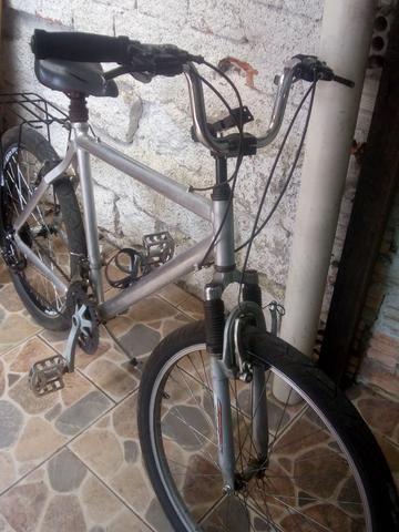 Bicicleta alumínio - Foto 3