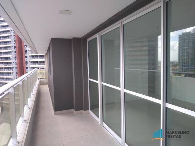Apartamento com 3 dormitórios para alugar, 110 m² por r$ 2.079,00/mês - salinas - fortalez - Foto 7