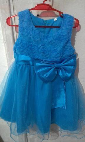 Vestido Infantil Usado Tamanho 3