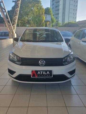 VW gol 2019 1.6 8 mil km rodado único dono cambio automatico extra!!!
