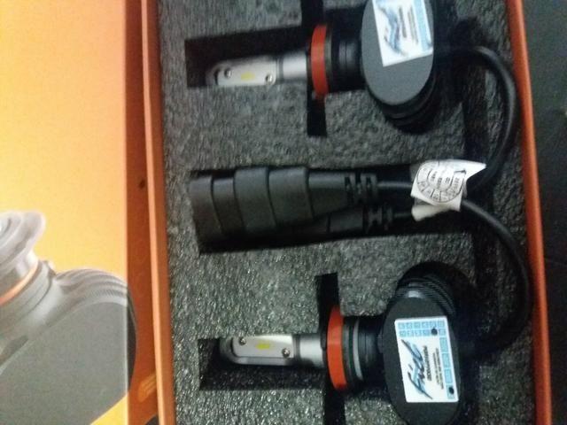 Led ultra led h11 Multilaser nova na embalagem garantia instalado - Foto 3