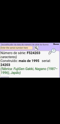 Ibanez Jem 7v Signature - Steve Vai - Japonesa 24 anos (Gustavo Guerra) - Foto 4