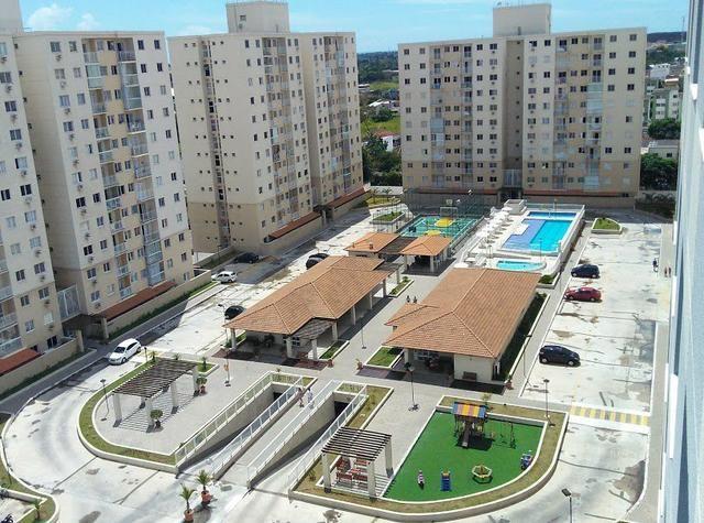 Apartamento Villaggio Limoeiro, 2 quartos, suíte, 56 m², ótima localização