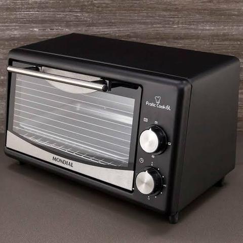 Vendo um Forno Elétrico Mondial Pratic Cook 6L - Foto 2