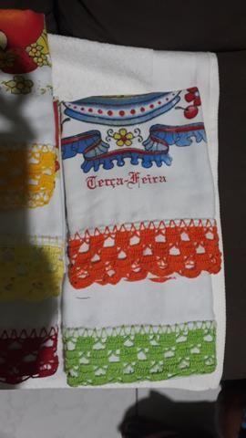 Conjunto de toalha de prato - Foto 3