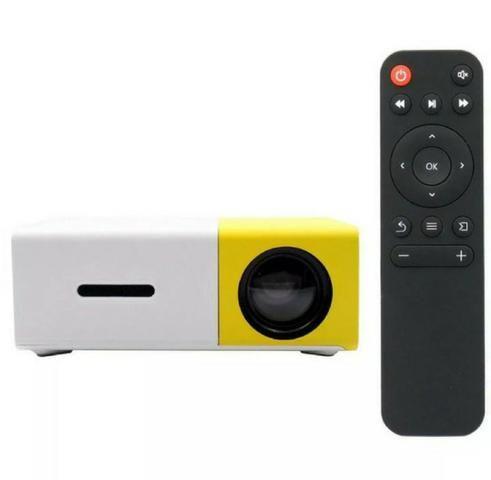 Mini projetor LED - 100 polegadas- videos filmes fotos - Foto 5