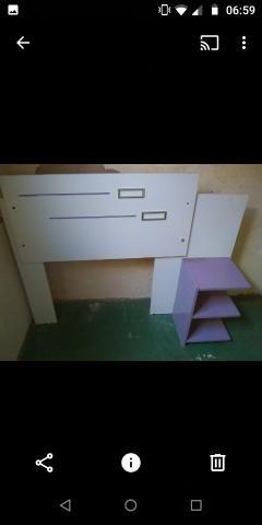 Cabeceira de cama box solteiro motivo mudança de tenho que entregar a casa hj - Foto 3