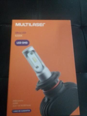 Led ultra led h11 Multilaser nova na embalagem garantia instalado - Foto 2