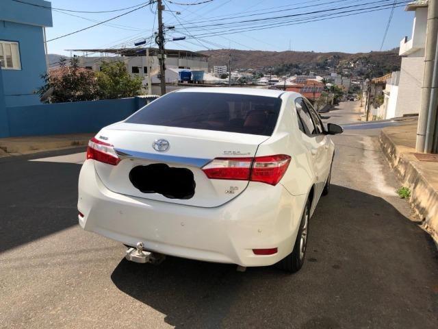 Corolla XEI 2.0 Flex - Único Dono - Preço de Ocasião - Consigo Financiamento - 2017 - Foto 2