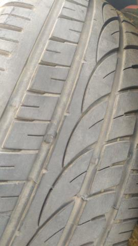 Vendo ou Troco pneus aro 17 - Foto 2