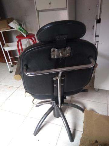 Cadeira hidráulica e reclinável, super bem resistente - Foto 6
