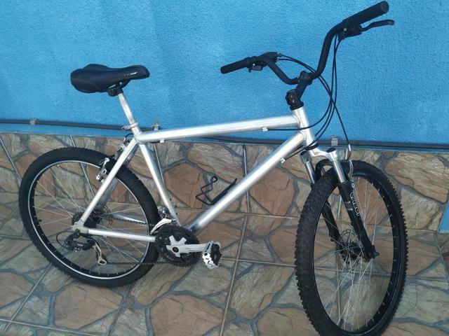 Bicicleta de alumínio 21 velocidade - Foto 2