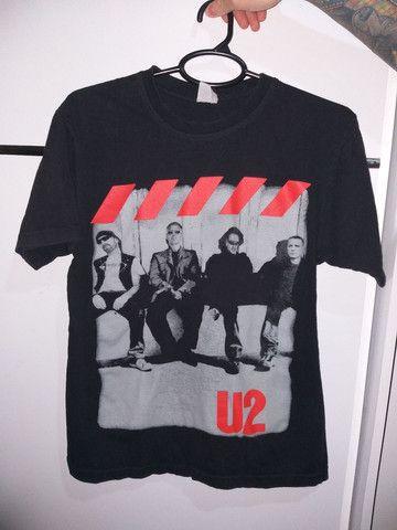 Camisetas Slipknot e U2 - Foto 2