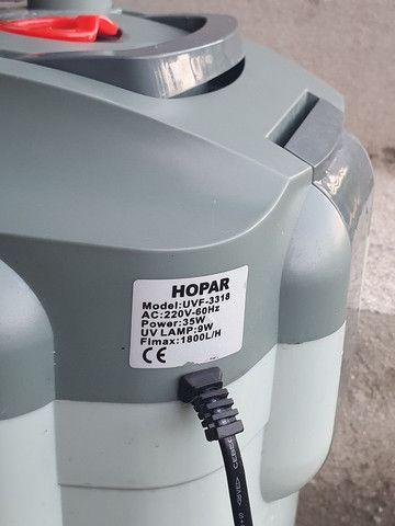 Filtro de aquario (canister) hopar 1800l/h R$ 600,00 - Foto 2