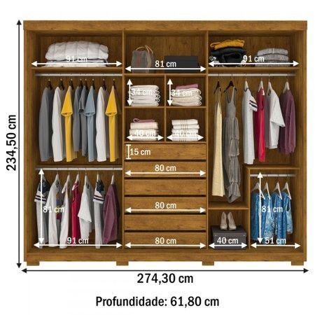 Guarda Roupa Prime, No Dinheiro = $ 3.182,00 - Foto 2