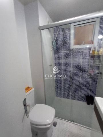 Apartamento com 2 dormitórios à venda, 50 m² por R$ 250.000 - Fazenda Aricanduva - São Pau - Foto 3