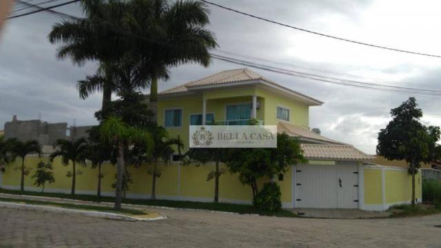 Casa com 4 dormitórios à venda por R$ 500.000,00 - Ponte dos Leites - Araruama/RJ