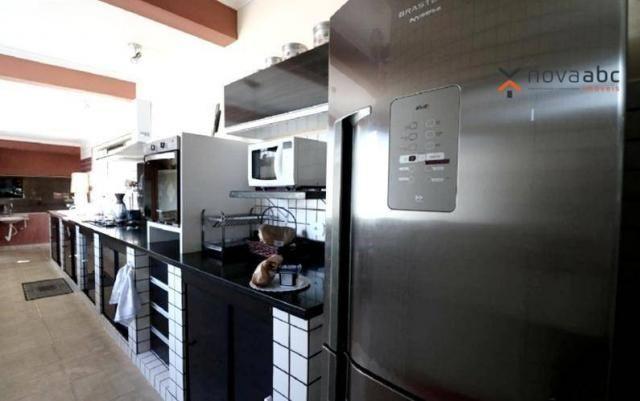 Casa térrea com 4 dormitórios para alugar, 295 m² por R$ 6.000/mês - Parque das Nações - S - Foto 13