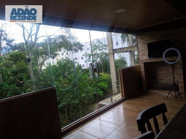 Casa com 2 dormitórios à venda, 95 m² - Bom Retiro - Teresópolis/RJ - Foto 11