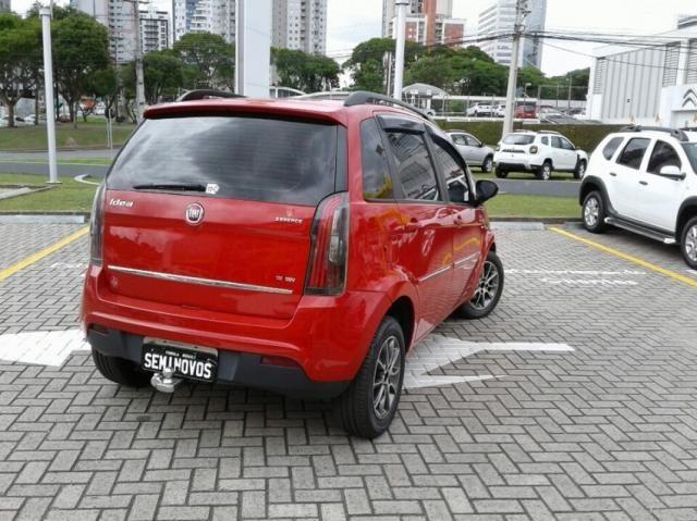 FIAT IDEA ESSENCE 1.6 16V DUALPLUS Vermelho 2014/2015 - Foto 4
