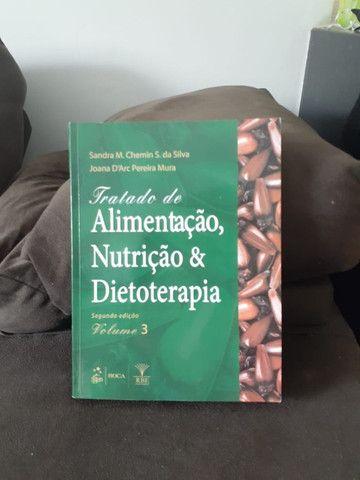 Livro: Alimentação, Nutrição e Dietoterapia Em Perfeito estado - Foto 2