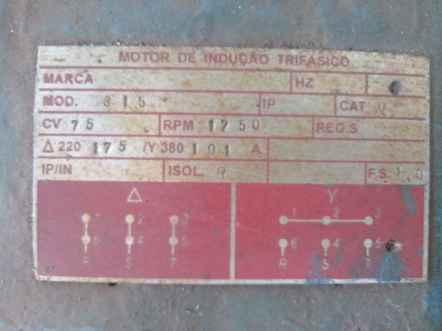 Motor Trifásico 75 CV - Foto 2