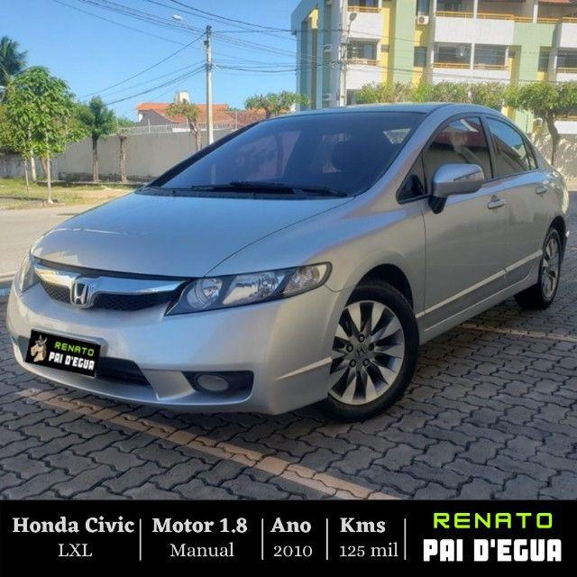 Oferta 2 mil abaixo da Fipe!!! - Honda Civic LXL 2010 Manual - Renato Pai Degua
