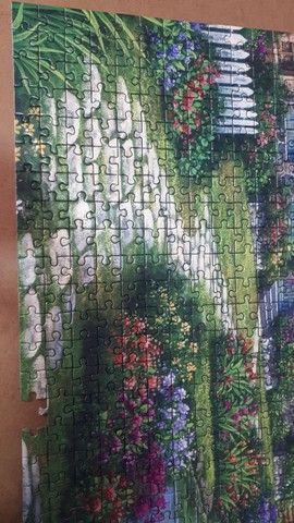 Quebra Cabeça - Recanto dos Cisnes - grow - 1.000 peças  - Foto 2