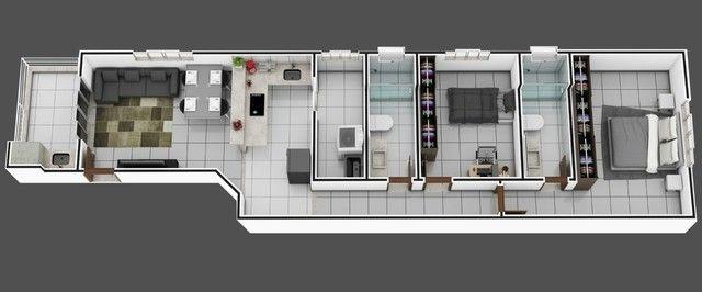 Apartamento à venda com 2 dormitórios em Bethânia, Ipatinga cod:1095 - Foto 3