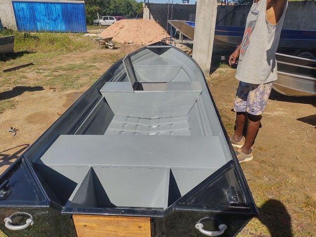 Barcos alumínio novos e usado  - Foto 6