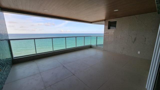Beira-mar de Maceió, Ed. Riviera, 258m², com varanda gourmet de 25m², área de lazer comple - Foto 3