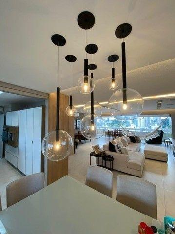 Condomínio Saint Romain, 4 suítes, 3 vagas, 100% mobiliado, moderno e lindo, no Vieiralves