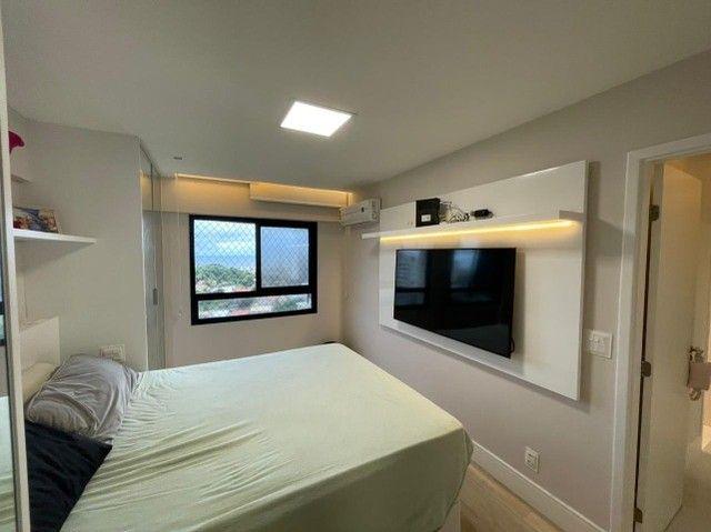 Colina A, apartamento 3/4,suíte,finamente decorado,vista mar,2 vagas - Foto 9