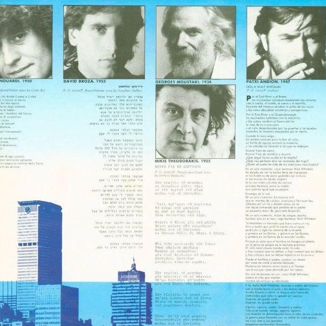 LP Poetas em Nova Iorque.  Part. Fagner - Foto 3
