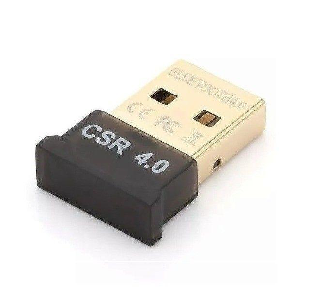 Adaptador Usb Bluetooth 4.0 Dongle Portátil Para Pc e Notebook - Foto 4