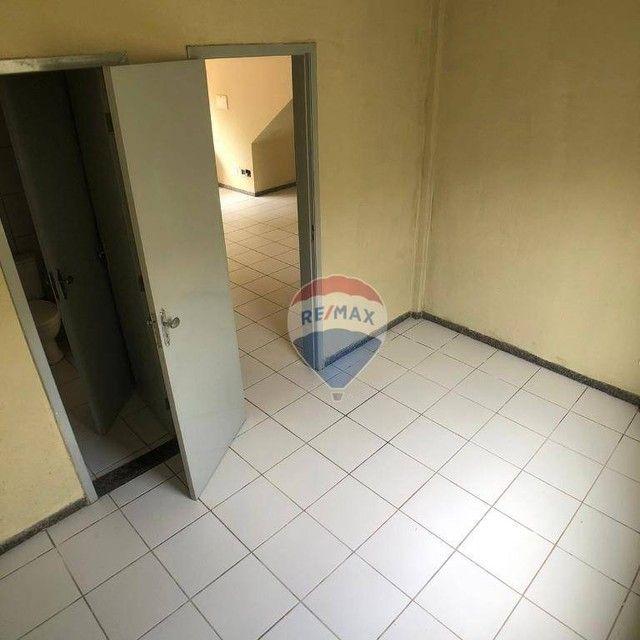 Apartamento com 2 dormitórios para alugar, 53 m² por R$ 790,00/mês - Edson Queiroz - Forta - Foto 11