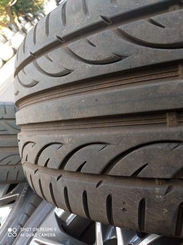 Jogo de roda e pneus praticamente zero aro17 Mercedes 180 - Foto 5