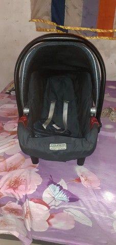 Carrinho De bebê com bebê conforto! - Foto 3