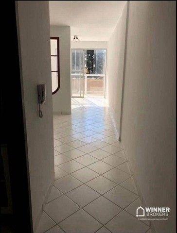 Apartamento com 3 dormitórios para alugar, 84 m² por R$ 1.200,00/mês - Zona 06 - Maringá/P