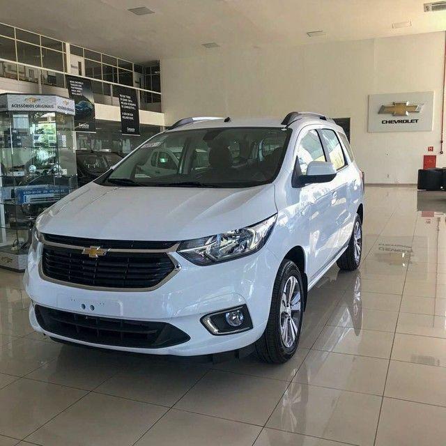 Chevrolet Spin Premier 21/21 - O 7 lugares mais barato do Brasil