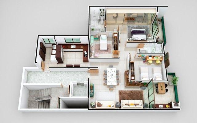 Apartamento à venda com 3 dormitórios em Cidade nobre, Ipatinga cod:528 - Foto 15