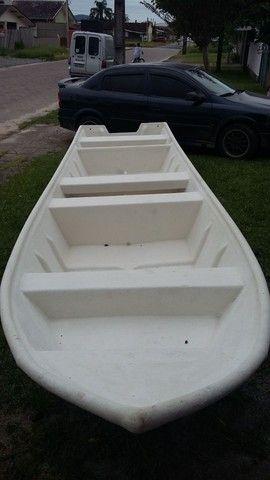Barco batera bote lancha de fibra  - Foto 15
