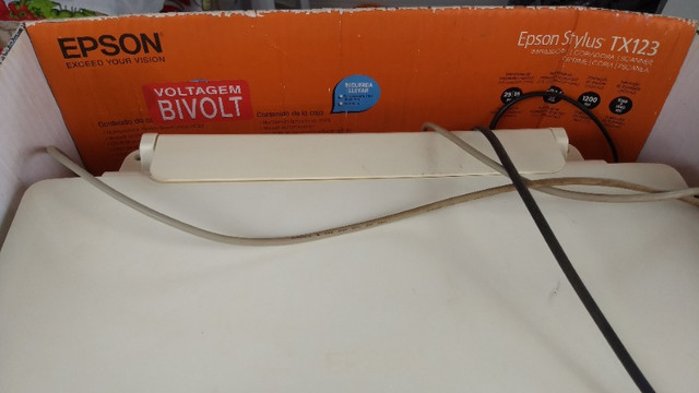 Impressora copiadora scanner Epson stylus TX123 - Foto 5