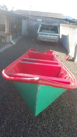 Barco batera bote lancha de fibra  - Foto 16