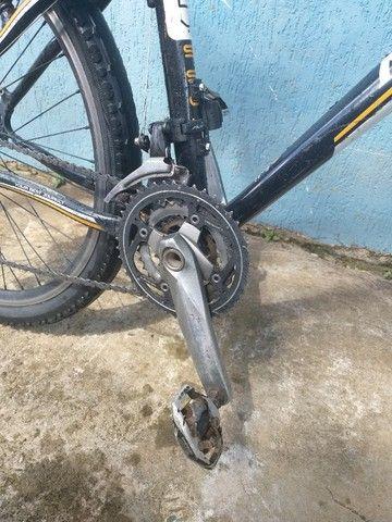 Bike aro 26 quadro de alumínio. - Foto 4
