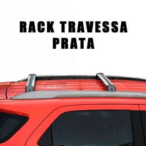 Rack Travessa Teto Larga Nova Ecosport 2013/2015 Prata - Foto 2