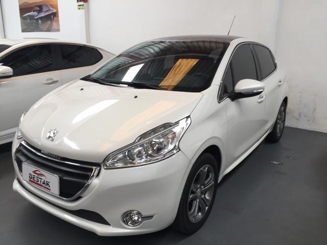 Peugeot 208 Griffe 1.6 Branco Pérola 2015 - Foto 2