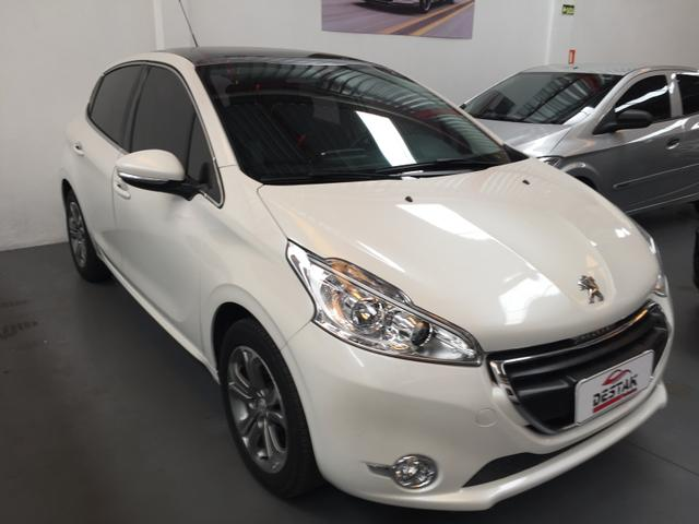 Peugeot 208 Griffe 1.6 Branco Pérola 2015 - Foto 3