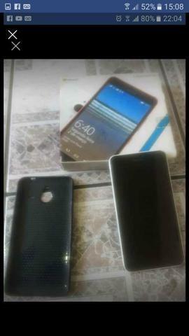 Vendo ou troco Lumia xl 640